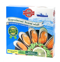 Royal green mussels from New Zealand. Now in Ukraine.